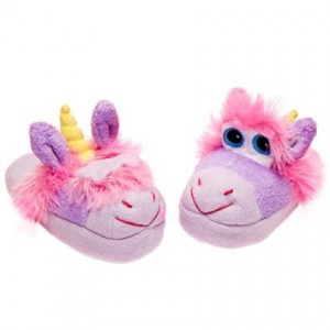 unicorn slippers stompeez