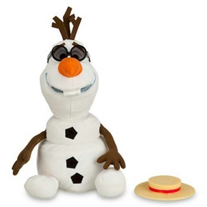 disney frozen olaf singing plush