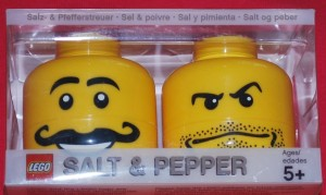 lego salt and pepper shaker