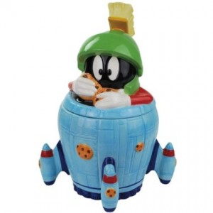 marvin martian cookie jar