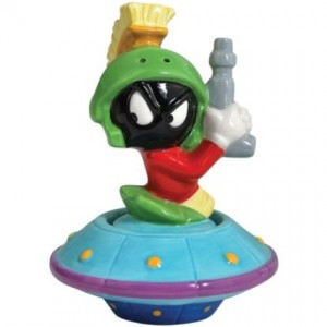 marvin the martian salt and pepper shaker