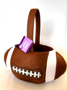 sport easter basket football