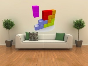 Tetris Wall Decal Cool Stuff To Buy And Collect