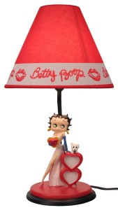 betty boop lamp white gown