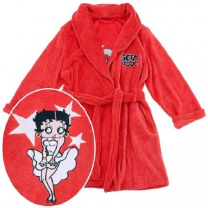 betty boop robe red
