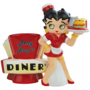 betty boop salt pepper shaker diner