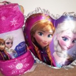 Disney Frozen Pillow and Throw Blanket