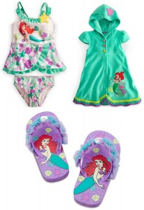 Disney Little Mermaid Princess Ariel Swimsuit Cool Stuff