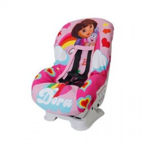 dora explorer car seat cover