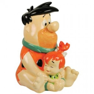 flintstones cookie jar pebbles