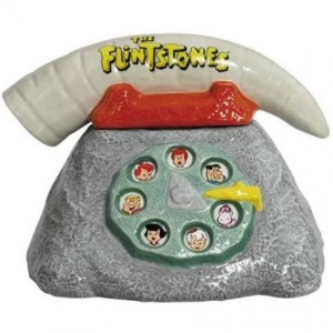 flintstones cookie jar telephone