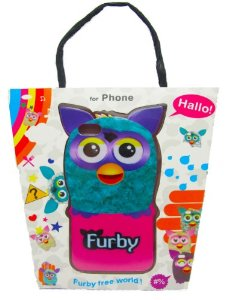 furby iphone case blue
