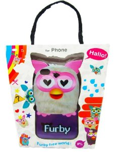 furby iphone case white