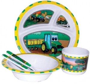 John Deere Kids Dinnerware Set Cool Stuff To Buy And Collect