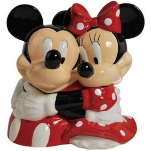 mickey mouse cookie jar minnie