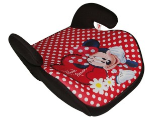 minnie mouse booster car seat backless