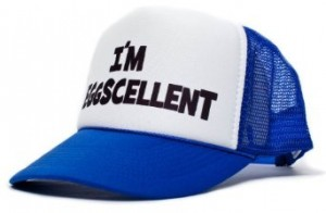 regular show hat eggscellent
