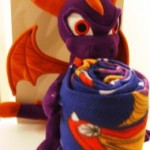 Skylanders Plush Pillow and Throw Blanket