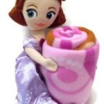 Sofia the First Plush Pillow and Throw Blanket