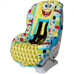 spongebob car seat cover