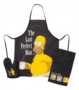 the simpsons apron