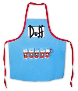 the simpsons apron duff