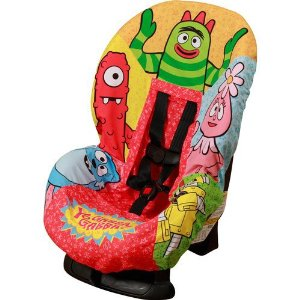 yo gabba gabba car seat cover