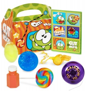 cut the rope birthday favor