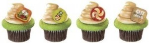cut the rope cupcake ring