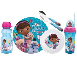 doc mcstuffins dinnerware set
