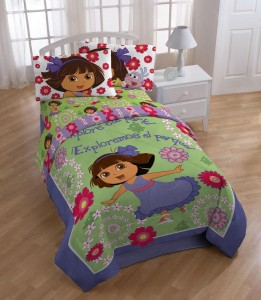 Dora the explorer bedding cool stuff to buy and collect for Dora the explorer bedroom ideas