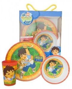 Go Diego Go Dinnerware Set Cool Stuff To Buy And Collect