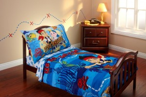 jack and the neverland pirates bedding toddler