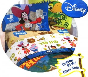 jack and the neverland pirates bedding twin