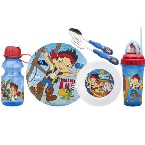 jake and neverland pirates dinnerware