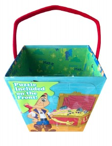 jakek and the neverland pirates easter basket puzzle