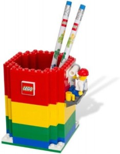 lego pencil holder 1