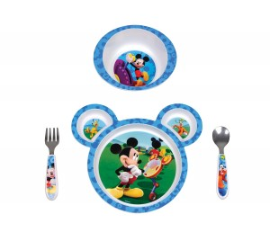 mickey mouse diinerware first year