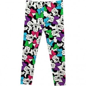 minnie mouse leggings bow