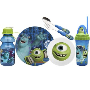 monsters university dinnerware sest