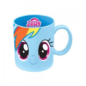 my little pony mug blue