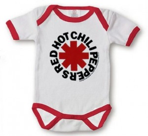 red hot chili peppers bodysuit