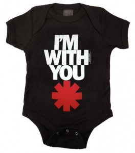 red hot chili peppers bodysuit black