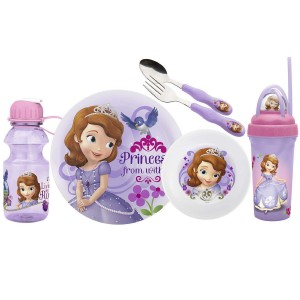 sofia the first dinnerware