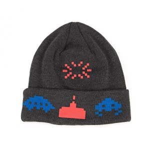 space invaders beanie hat