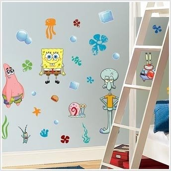 Spongebob Squarepants Wall Decals Cool Stuff To Buy And