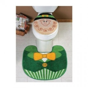st patrick toilet seat cover