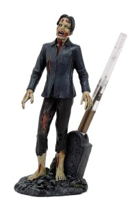 walking dead pencil holder zombie