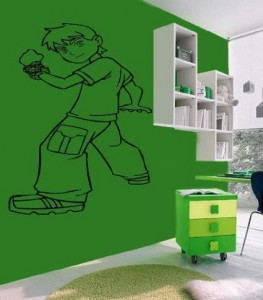 ben 10 wall decal large