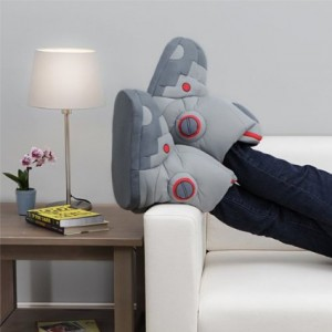 giant robot slippers